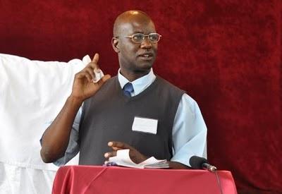 33 - Kennedy Sunkutu sharing Zambia's missions report
