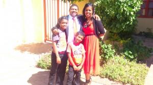 Mario & Charlene Maneville & sons Tyran-11yr & Nathan 7yrs
