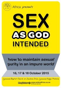 SEX AS GOD INTENDED IT