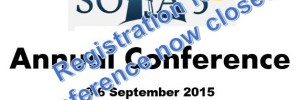 SOLA 5 Annual Conference (Registration now Closed)