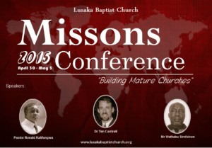 Missions Conference 2105