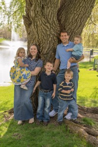 Seth and Amy Meyers Family (Children LtoR Callie, Caleb, Colin and Carson) Elim Baptist Church