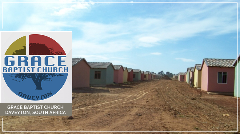 Ministry Update: Grace Baptist Church (Daveyton, South Africa) (January 2019)